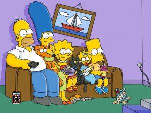 Como Decorar com Quadros dos Simpsons