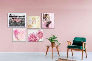 Aprenda a combinar quadros com a decoração