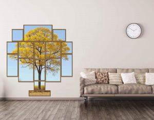 Como dar mais estilo ao ambiente com conjunto de quadros